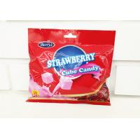 Quality 2.75g Cube Shape Strawberry Flavor Milk Candy In Bag Healthy And Yummy wholesale
