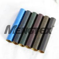 Cheap High quality of colorful Carbon Fiber tube/Pipe,camera for sale