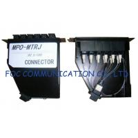 Quality Fiber Optic Patch Panel For Telecoms / MPO Cassette Full Loaded With MTRJ Pigtails wholesale