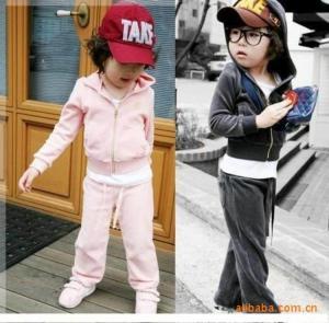 China Free sample china supplier kids saree velvet sports two set islamic children clothing on sale