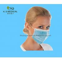 Cheap Disposable Surgical Products Medical Face Masks Ear - Loop / Tie - On for sale