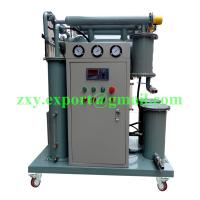 Quality High Efficiency Portable Type Single Stage Vacuum Transformer Oil Purifier wholesale