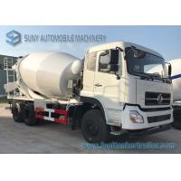 Quality 4M3 Dongfeng Concrete Mixer Truck  3 - 7cubic Cement With Opitional Colors wholesale