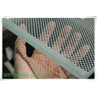 Quality Acid and Alkali resistant decorative Silk Screen Glass with with printing inorganic paint wholesale
