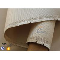 Quality 800℃ Brown High Silica Fabric 1150GSM 1.2MM , High Temperature Fiberglass Cloth wholesale