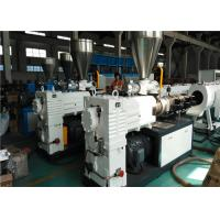 150KG/H Capacity PVC Pipe Extrusion Line Dust / Chip Free Cutting System