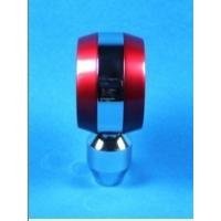 Quality Moderate Red / Black Racing Gear Knob , 5 Speed Gear Shifter Knobs wholesale