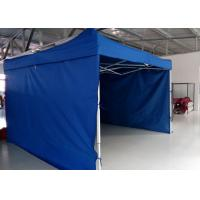 Quality Logo Printed 3m X 4.5m Pop Up Canopy Tent With Sidewalls , Pop Up Market Gazebo Hire wholesale