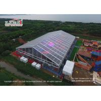 Quality 50M Outdoor Party Tents with Clear Top Roof Cover For International WBC Boxing wholesale