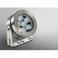 Quality 24VDC 9*2W 316L Stainless Steel LED Underwater Spot Light With Adjustable Bracket 18W 1200LM wholesale