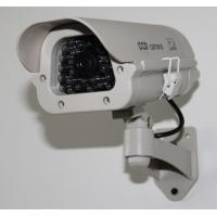 Quality Indoor/Outdoor Mock Security Plastic Bullet Cameras with LED light DRA42B wholesale