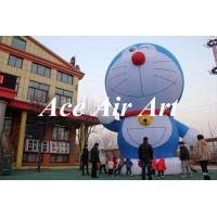 Quality giant 20ft commercial kids love inflatable doraemon cartoon for advertising wholesale