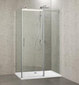 "Quality 34'' D x 48'' W x 76"" H Inch Frame Sliding Shower Enclosure  for bathroom wholesale"