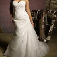 Cheap 2012 New Sweetheart A-line Organza Wedding Dress for sale