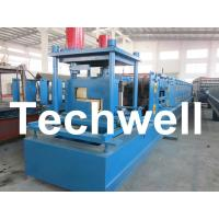 Cheap Customized Steel Z Shaped Purlin / Z Channel Roll Forming Machine TW-Z300 for sale