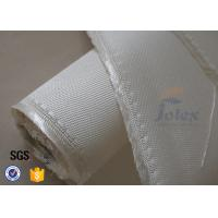 Quality 1200gsm 1.3mm Fiberglass Fabric High Silica Cloth For Welding Blanket wholesale