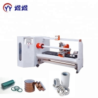 Quality YUYU Single Shaft PVC 1300mm Tape Roll Cutting Machine wholesale