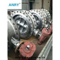 China SS304 Disc Flanged Butterfly Valve RF Soft Sealing Lever Worm Gear Butterfly Valve on sale