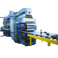 Quality Continuous PU Sandwich Panel Machine 120 Kw Polyurethane Sandwich Panel Line wholesale
