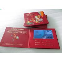 Quality One Button Control LCD Video Brochure , 7 Inch LCD Video Business Card Durable wholesale