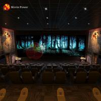 China Horror Theme 5d Theater System Equipment 3 Dof Immersive Motion Simulator Machine on sale