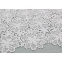 Quality Floral Poly Dying Lace Fabric Guipure French Venice Lace African Lace Dress Fabric wholesale