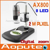 Quality Hot sale 8LED 800X USB Digital Microscope Endoscope Magnifier Camera+simple stand holder support promotion on sale!!! wholesale