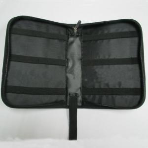 Quality Multi Pocket Travel Tool Bag , Black Portable Electronics Travel Organizer wholesale