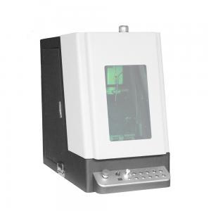 China Logo Printer 0.03mm 7000mm/s Fiber Laser Marking Machine on sale
