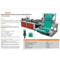 Cheap Fully Automatic Non Woven Apron Making Machine for sale