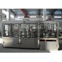 Quality 3000BPH Beverage Filling Machine , Carbonated Beverage Bottling Equipment With CE wholesale