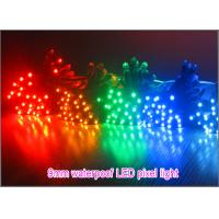 Quality 9mm LED pixel light 5V/12V dot light Red Green Blue Yellow White Pink Voilet Orange advertising lighting letters wholesale
