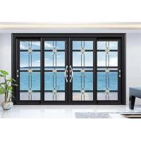 Quality Dust Resistant Aluminium Frame Glass Door For Office Conference Room Balcony wholesale