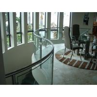 Quality Safety Building bending tempered glass , Clear tempered glass wall panels wholesale