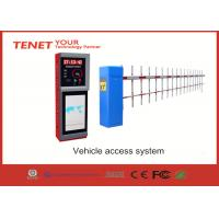1.5S 3s 5s traffic barrier gate , car park barrier system with straight fence folding boom