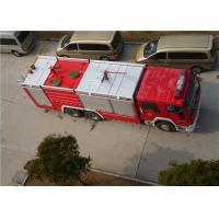 Quality Heavy Duty Foam Fire Truck Maximum Allowable Load 34000KG With Electric Steering Box wholesale