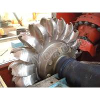 Quality Pelton Water Turbine / Pelton Hydro Turbine for Hydropower Station with Water Heads 80 - 800m wholesale