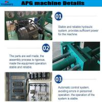 Quality high efficiency apg epoxy resin clamping machine for high current bushings wholesale