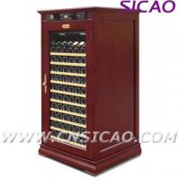 Quality Wooden Wine Cooler ; Refrigerated Wine Cabinet wholesale