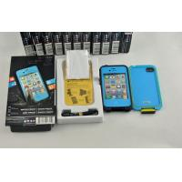 Quality PC Snow Proof Waterproof Cell Phone Case Blue Lifeproof for Iphone 4g wholesale