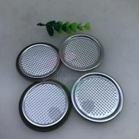 China 83mm 99mm Food Grade Aluminium Foil Lids for Paper Can,Peel Off Lid on sale
