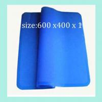 Quality fashionable silicone dinner pads ,square shape silicone table mats wholesale