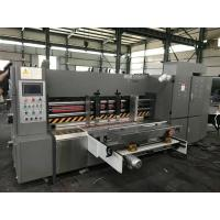 Quality 380V 50HZ Automatic Rotary Die Cutting Machine For 3/5/7 Corrugated Cardboard wholesale