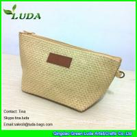 China cheap lady straw handbags foldable paper straw clutch bags on sale