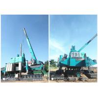Quality Roadside Hydraulic Piling Machine 460T Piling Capacity No Air Pollution wholesale
