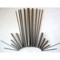 Buy cheap H6 Tungsten Carbide Round Bar , Solid Carbide Rod Blanks High Efficiency from wholesalers