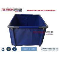 Cheap PVC Foldable 2000 Gallon Aquaculture Tank for Living Fish Storage and Transport for sale
