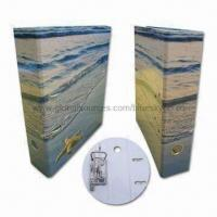 Quality Eco-friendly Lever Arch File Folder, Full-color/CMYK and Pantone, Customized Sizes are Welcome wholesale