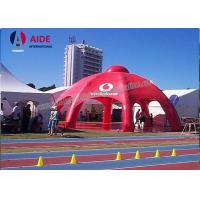 Cheap Red Giant Inflatable Spider Tent With 8 Legs PVC Party Tents For Rent for sale