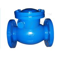 Quality PN10 / PN16 Ductile Iron Valves Hydraulic Swing Check Valve ANSI BS DIN JIS wholesale